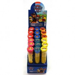 PAW PATROL Espositore n. 18 Timbrini con Caramelle 10 gr