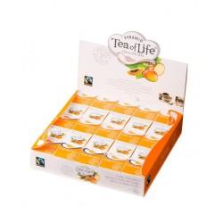 Confezione 25 Piramidi Infuso Frutti Tropicali del Pacifico in cubetto monodose - TEA OF LIFE