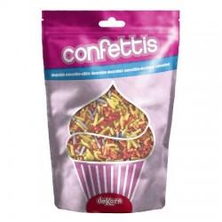 Confezione Decorazioni in Zucchero Codette Colorate 100 gr