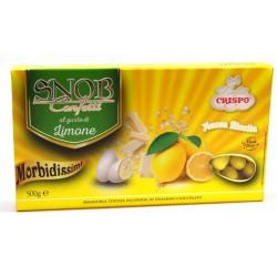 Confetti Gialli con Mandorla e Cioccolato Bianco (gusto limone) Snob Crispo 500gr