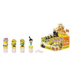 MINIONS CATTIVISSIMO ME 3 - Espositore n. 20 Topper con Figurina 3d e Caramelle 9 gr