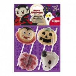 Busta n.4 Lecca Lecca Marshmallow Halloween 48 gr