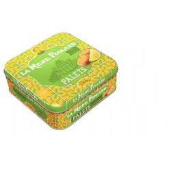 Latta Biscotti Palets al Burro e Limone 250 gr - Made in Francia