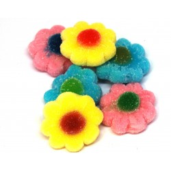 Caramelle Gommose fiorellini colorati Zuccherati 1000gr