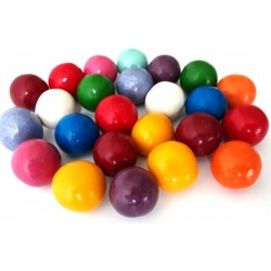 Palle Bubble Gum gusto Frutta ø 25 mm - 1,5 kg