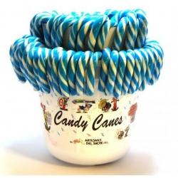 Lecca lecca bastoncino bianco e azzurro 28 gr