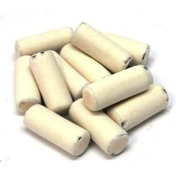 Gessetti bianchi di liquirizia kg.1