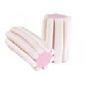 Marshmallow Cotone Dolce BIANCO E ROSA STRIATO 1000 gr