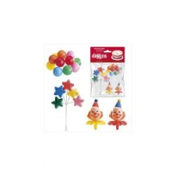 CLOWN kit 4 pz plastica