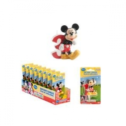 TOPOLINO-MICKEY MOUSE Candelina N.3 6,5 cm