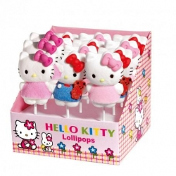 HELLO KITTY Espositore n. 12 Lecca Lecca in Marshmallow 48gr
