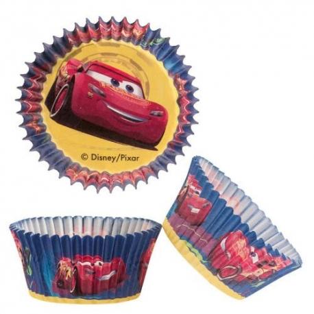 CARS Pirottini per Cupcakes 50 pz ? ø 5 cm h 3 cm