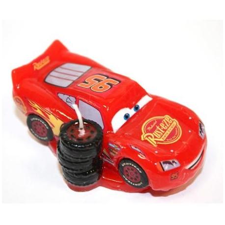 CARS 3D candelina 8,5X6 cm