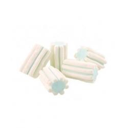 Marshmallow Cotone Dolce BIANCO E AZZURRO STRIATO 1000 gr