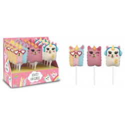Espositore n.12 LAMA LOVELY Lecca Lecca Mallow 20g