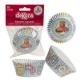 FAST FOOD Pirottini per Cupcakes 25 pz ? ø 5 cm h 3 cm