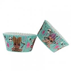 LOL Pirottini per Cupcakes 25 pz ? ø 5 h 3 cm
