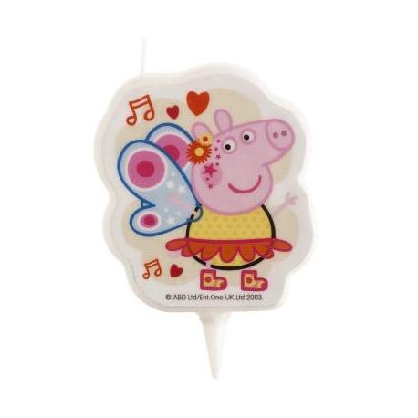 PEPPA PIG 2D Candelina 7 cm